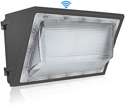 150W LED Wall Pack Light with Dusk to Dawn Photocell 18000lm and 5500K Super Bright White Outdoor product image