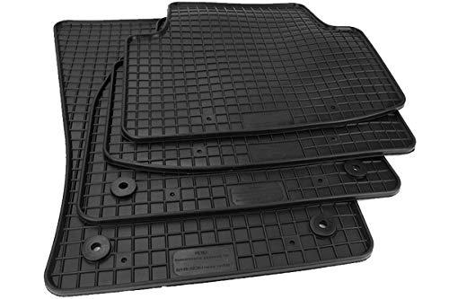 Kfzpremiumteile24 Gummimatten Kompatibel mit Passat (3G) ab 11/2014 Premium Fußmatten Gummi