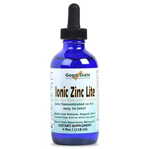 Zinc Lite - 4 oz - 7.5 mg per 2 mL Serving (55 Servings) - Glass Bottle