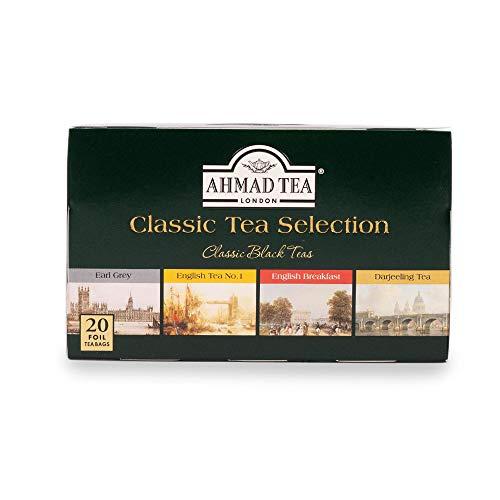 AHMADTEA(アーマッドティー)クラシックセレクションティーバッグ20袋[アソート:ダージリンアールグレイイングリッシュブレックファーストイングリッシュティーNo.1]