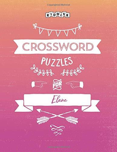 Crossword Puzzles for Elane