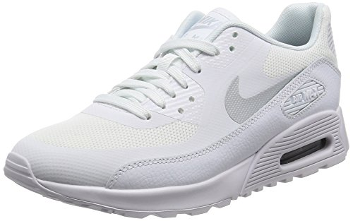 Nike Nike Damen W Air Max 90 Ultra 2.0 Turnschuhe, Elfenbein MTLC Platinum/White/Black, 40 EU