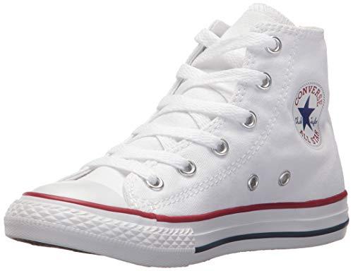 Converse - Scarpe Sportive, Unisex Adulto, Modello: Ctas Core Hi, (Bianco Optical), 32 EU
