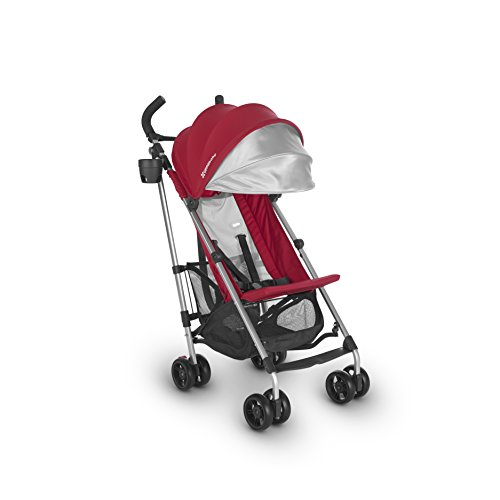 2018 UPPAbaby G-LITE Stroller- Denny (Red/Silver)