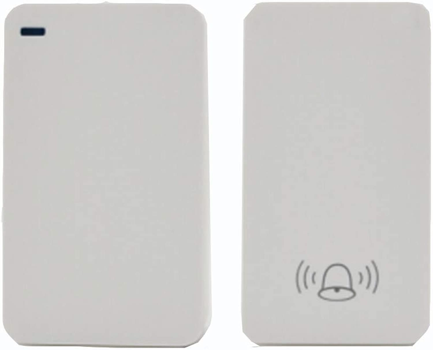 Home Wireless Doorbell, Plugin Receiver + Transmitter (SelfPowered), ABS Material, Family Company