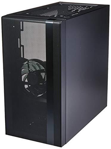 Cooler Master – NR400 – PC-Gehäuse Micro ATX (1 Fenster, 2 x Lüfter 120 mm) – Schwarz