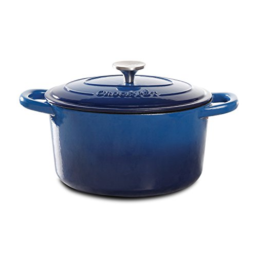 Crock-Pot 69142.02 Dutch Oven, 5-Quart, Blue