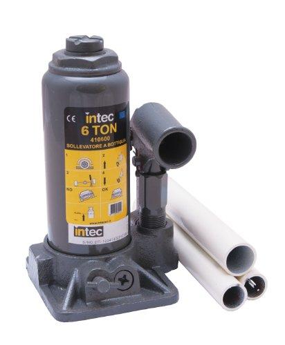 Intec 410600 Sollevatore Idraulico a Bottiglia da 6 TON