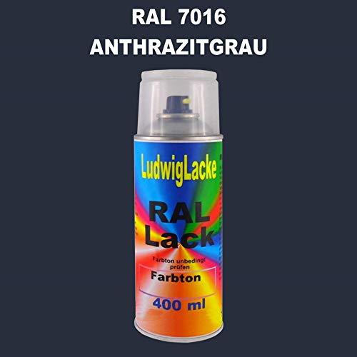 RAL 7016 ANTHRAZITGRAU Seidenmatt 400 ml 1K Spray