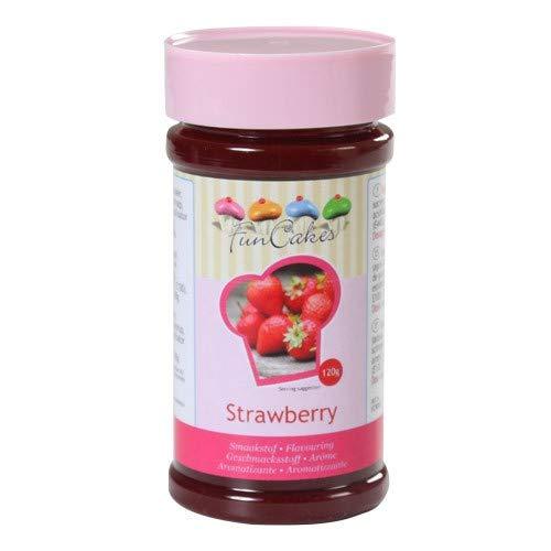 FunCakes Aromapaste Strawberry 120g, Aromapaste Erdbeer, Aroma