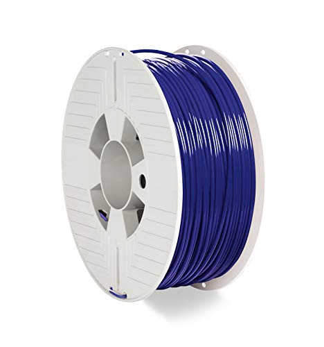VERBATIM PLA-Filament 3D-Printing I 2.85mm I 1kg I high end polyactide-Filament for Material Extrusion I for 3D-Printer & 3D-Pen I 3D-Printer-Filament Made of PLA I 1 Spool 126m I Blue