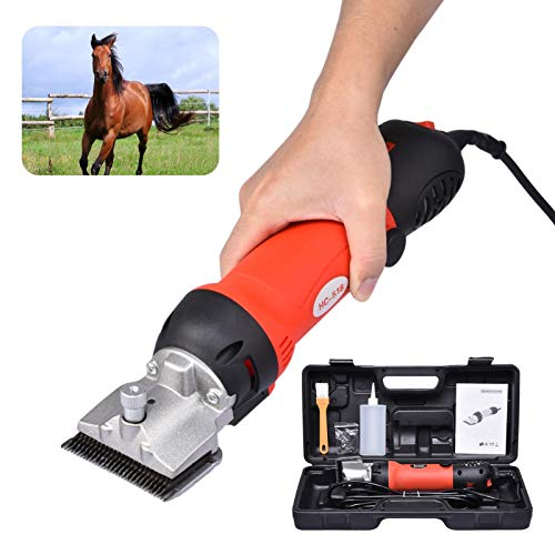 Cordless Horse Clippers, Electric Horse Cordless Hair Trimmer, 6 Speeds...