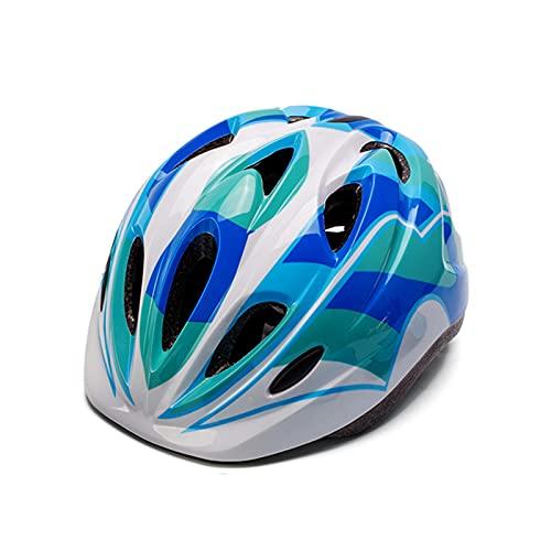 Yaxing Casco de Bicicleta para niños,Casco de Ciclismo Ajustable y multideportivo,Casco Bicicleta Ligero,cómodo y Transpirable,para niños y niñas de 3 a 15 años