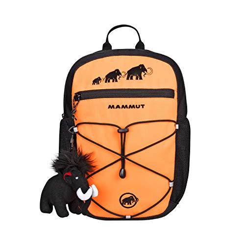 Mammut Kinder First Zip Trekking- & Wanderrucksack, orange (Safety orange-Black), 8 L