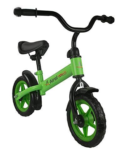 Airel Balance Kinderloopfiets zonder pedalen, loopschoenen, uniseks, voor kinderen, groen, eenheidsmaat