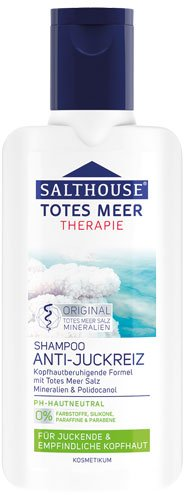 Salthouse 6X Totes Meer Therapie Anti-Juckreiz Shampoo - 250ml