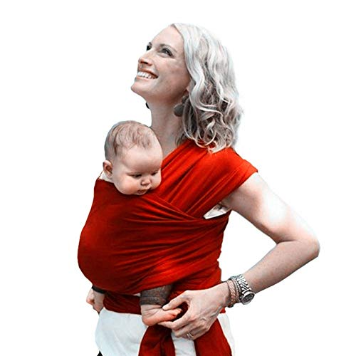 La Bolsa de bebé, Portabebés, retráctil Portabebés, Neonatal e Infantil, Cesta Plegable, Simple Bolsa de bebé, Soporte del Asiento, Suave Soporte del Asiento (Color : Gray)