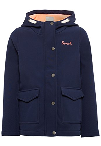 Bench Mädchen Parka Softshell Jacke, Blau (Maritime Blue Bl11213), 164 (Herstellergröße: 13-14)
