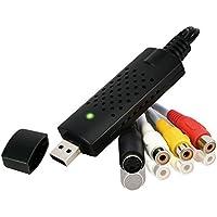 Rybozen Convertidor de audio/video USB 2.0 Digitalice y edite video desde cualquier fuente analógica incluyendo VCR DVD VCR
