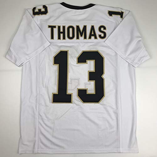Unsigned Michael Thomas New Orleans White Custom Stitched Football Jersey Size Men's XL New No Brands/Logos