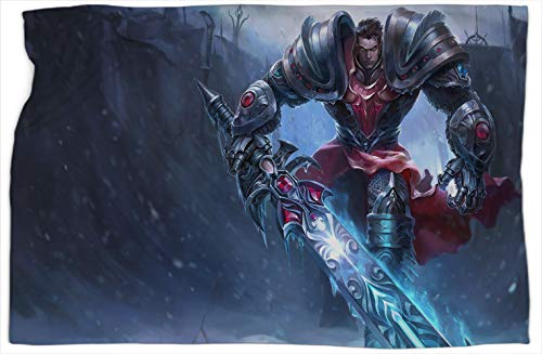 Dreadknight Garen League Legends - Manta suave para sofá o dormitorio, cálida y cómoda, 152,4 x 203,2 cm