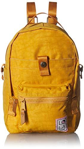 Lola Damen Mondo Utopian Small Backpack Rucksack, Ocker, Einheitsgröße