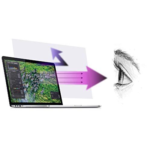 맥북 레티 나 13 인치(2012-2015 년 출시)용 안티 블루 라이트 스크린 프로텍터(2 팩). 푸른 빛을 걸러 내고 컴퓨터 눈의 피로를 풀어 더 잘 수 있도록 도와줍니다