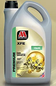 MILLERS ENGINE OIL XFE 10W40 SEMI SYNTHETIC LITRE 5405GG