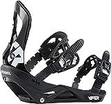 Rossignol Viper Bulk S/M - Fijaciones de snowboard para hombre, talla única, color negro