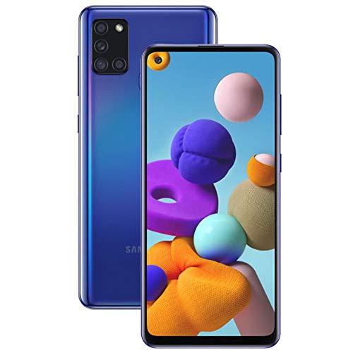 Smartphone Samsung Galaxy A21s, 64GB - Azul