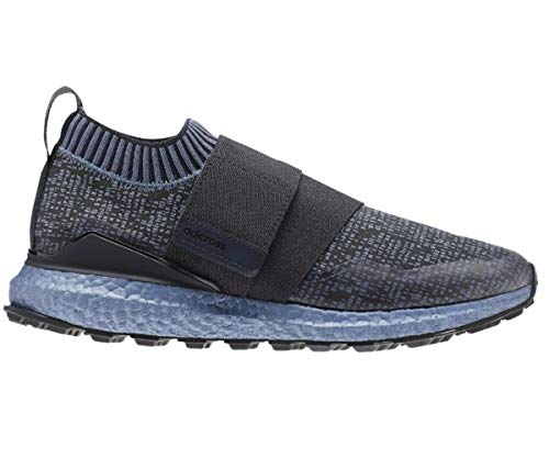 adidas Crossknit Boost 2.0 Ltd. Edition Golf Shoes AC7889 Carbon/Boost Blue (Grey, Numeric_10)