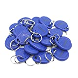 THONSEN 20Pcs 125KHz RFID Key Fob Proximity ID Card Token Tag Keypad Card for Door Entry Access Control System for Security Lock Wholesale, Read Only