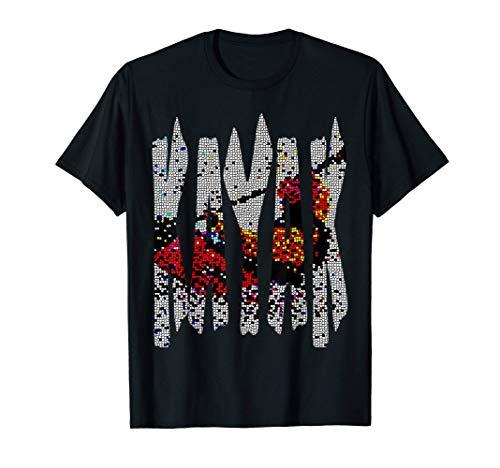 Kanu, Kajak, Kanadier und Paddeln, Kayak ! T-Shirt