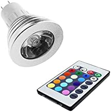 RGBW Led Spot with IR Remote Control