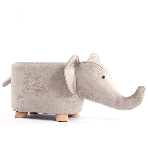 Möbel Dekoration Barhocker Massivholz Tier Elefant Fußhocker Fußhocker Kreativer Hocker Massivholz Esszimmerhocker Quadratischer Hocker Stoff Kunst Dressing Hocker Mode Makeup Hocker Bank Home Hock