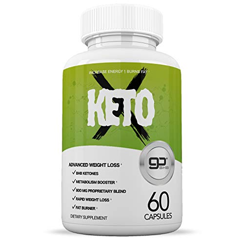 Keto Pills - Ketogenic Fat Burner for Women & Men - Helps Burn Fat Fast - Boosts Energy & Metabolism - Ketogenic Formula with BHB - 60 Capsules