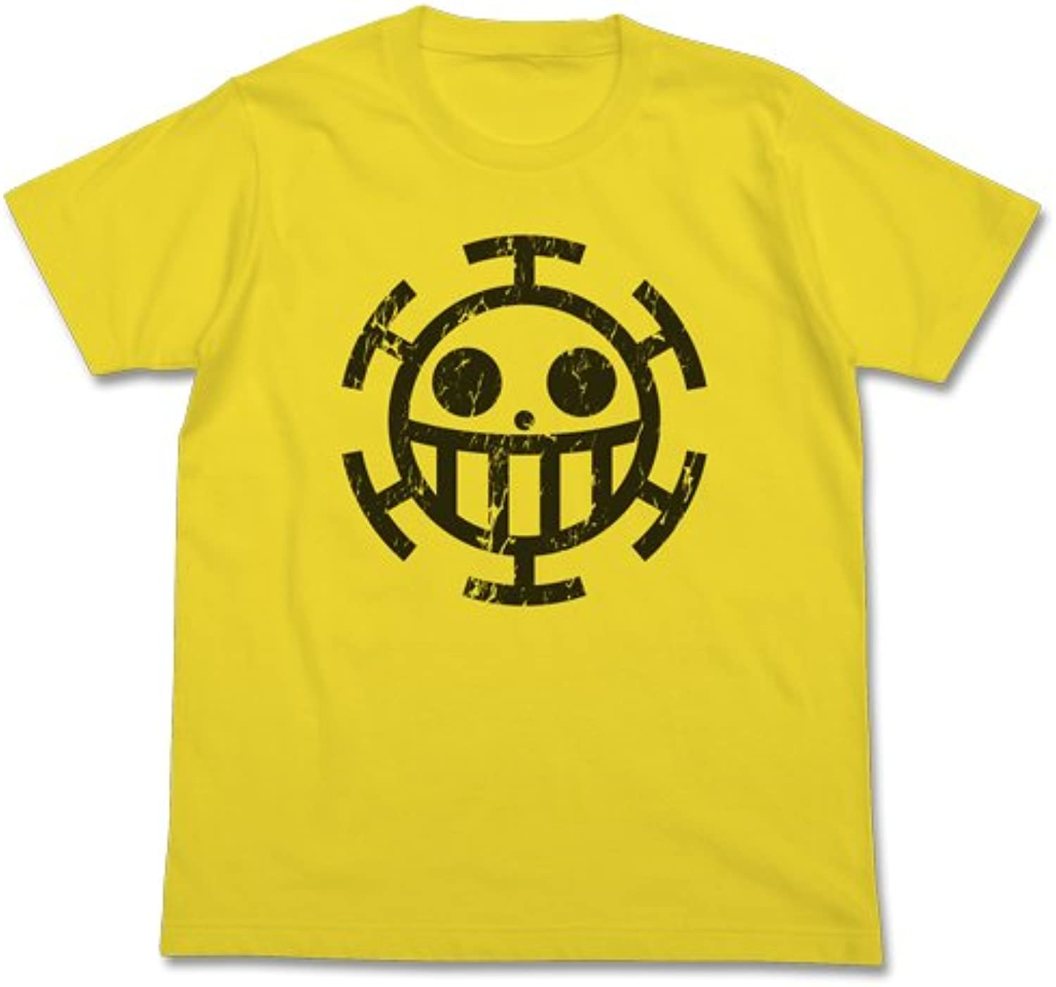 Pirates Tshirt Yellow Size One Piece Heart  S (japan import)