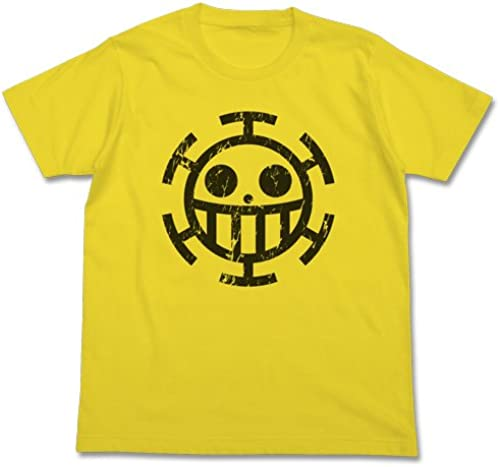 Pirates T-shirt jaune Taille One Piece Heart  S (japan import)