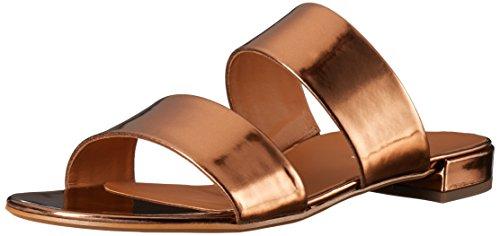 Paul Green Women's Monte Slip-On Loafer, Techno Metallic/Bronze, 8.5 M US