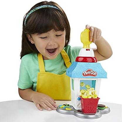 Play-Doh Popcornmaschine mit 6 Dosen Play-Doh Knete, ab 3 Jahren 4