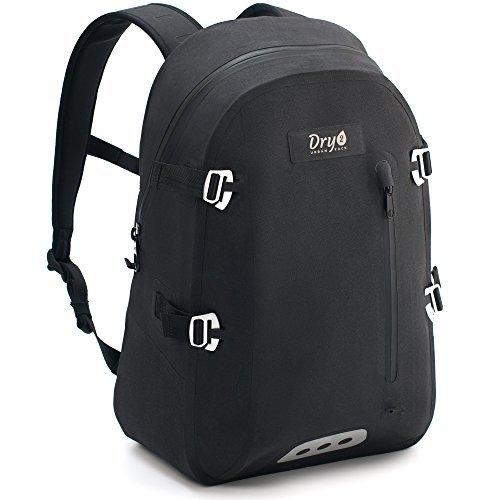 DRY2 Waterproof Backpack – Watertight Daypack Bag for Motorcycle Biking Hiking