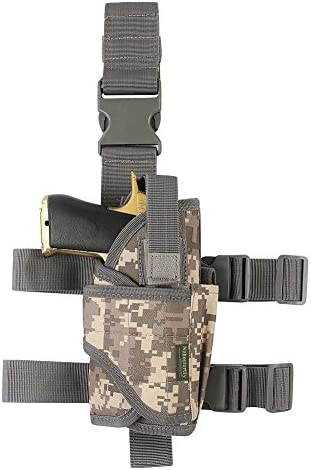 Tactical Leg Holster Gun Holster Drop Leg Adjustable Right Handed Thigh Pistol Holster Harness product image