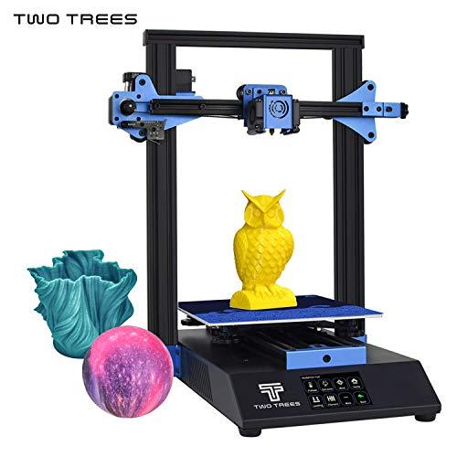 Entweg Imprimante 3D Structure en tôle Impression silencieuse 235 * 235 * 280mm Volume de Fabrication Haute précision avec écran Tactile de 3,5 Pouces Lit chauffé Reprendre Imprimer Filament