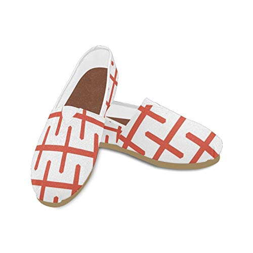 Top 10 best selling list for england flag flat shoes