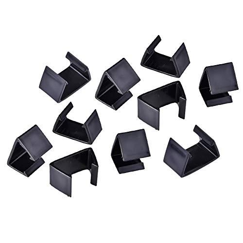 Kuinayouyi 10 PCS Clips para Muebles de Patio Al Aire Libre para Sofá Seccional de Patio, Clips para Sillas de Mimbre Clips para Muebles de JardíN ConexióN 4.25Cm