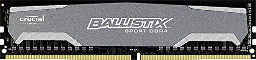 Ballistix Sport 16GB Kit (8GBx2) DDR4 2400MHz