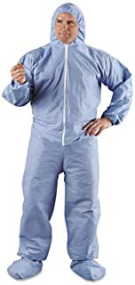 Waist 48-Inch Inseam 30-Inch MCR Safety CC1B52 Contractor Flame Resistant Coveralls Chest 52-Inch Size 52 Royal Blue