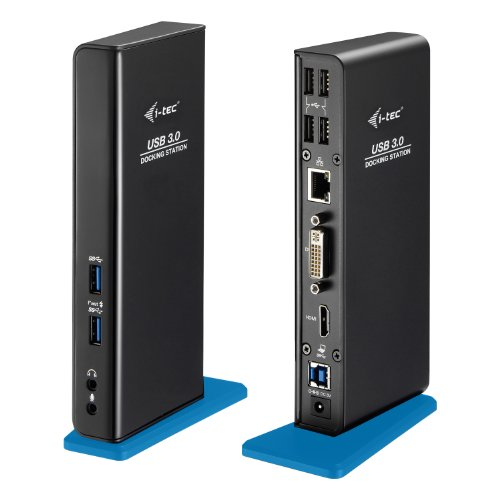 i-tec USB 3.0 Dual Docking Station HDMI DVI Full HD+