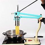 Macchina da Stampa Manuale in Acciaio Inox con 4 stampi per Vermicelli Spaghetti Linguine Pasta Maker Tools Accessori da Cucina (Color : B)