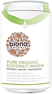 Biona Organic Coconut Water - 330ml (11.16fl oz)